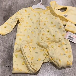 NWT Little Me Sleeper. Size 9 months